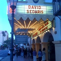 Mobile Post: Davis Sedaris Tonight