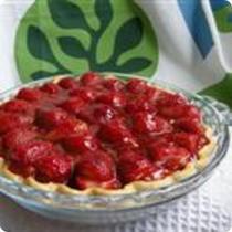 Strawberry Pie - A Birthday Cake Alternative