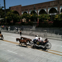 Fiesta Parade 2010 at State Street Underpass