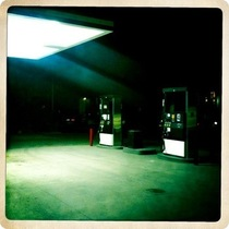 Mobile Post: Night Gas Station [photo]