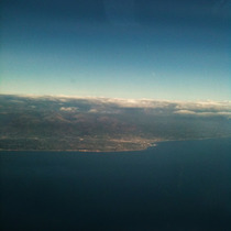 Santa Barbara from the Window Seat [photos]