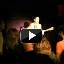 Jonathan Richman at the Mercury Lounge [video]