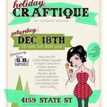 Holiday Art & Craft sales for Saturday! Rain or Shine!