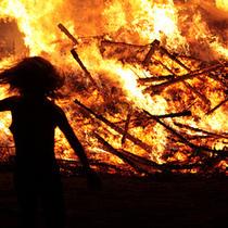 I am fire, hear me roar - Santa Ynez fire safety demo