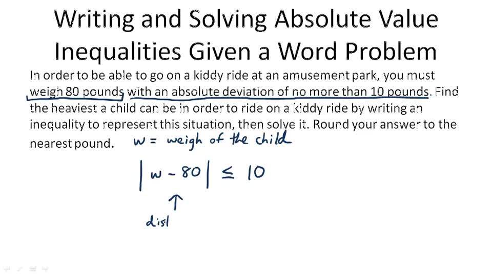 Eighth Grade Absolute Value Worksheet