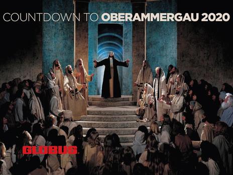 Globus countdown to oberammergau social