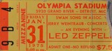 Led zep ticket