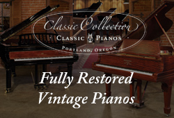 Fully Restored Vintage Pianos