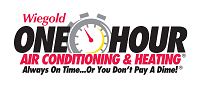 Website for Wiegold One Hour Air Conditioning & Heating
