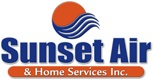 Website for Sunset Air and Home Services, Inc.