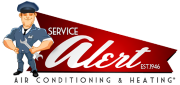 Website for Alert Air Conditioning & Heating, Inc.
