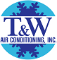 Website for T & W Air Conditioning, Inc.