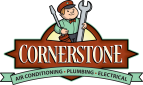 Website for Cornerstone Air Conditioning, Plumbing & Electrical