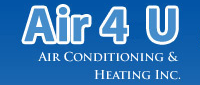 Website for Air 4 U Air Conditioning & Heating, Inc.