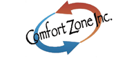 Website for Comfort Zone, Inc.