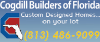 Website for Cogdill Builders of Florida, Inc.