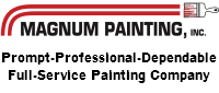 Website for Magnum Painting, Inc.