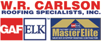 Website for W. R. Carlson Roofing Specialists, Inc.