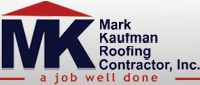 Website for Mark Kaufman Roofing Contractor, Inc.