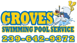 Website for Groves Swimming Pool Service, Inc.