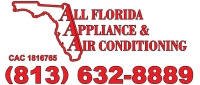 Website for All Florida Appliance & A/C, Inc.