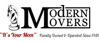 Website for Modern Movers, Inc.