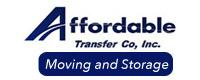 Website for Affordable Transfer Co, Inc.