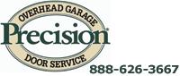 Website for Precision Overhead Garage Door