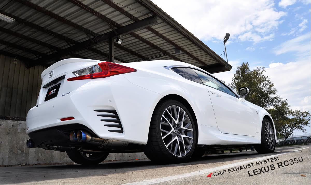 Sm1501 0215g rc350 grip exhaust polished tip msrp 1999 normal price 1699 99 club lexus special 1479 26