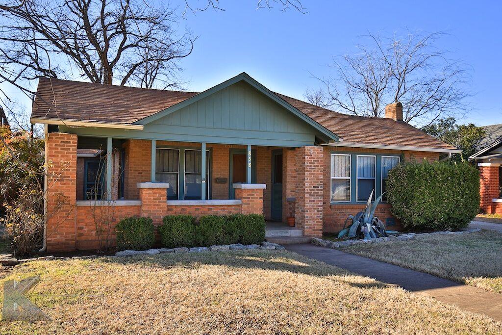Home for sale: 858 Ballinger, Abilene, TX