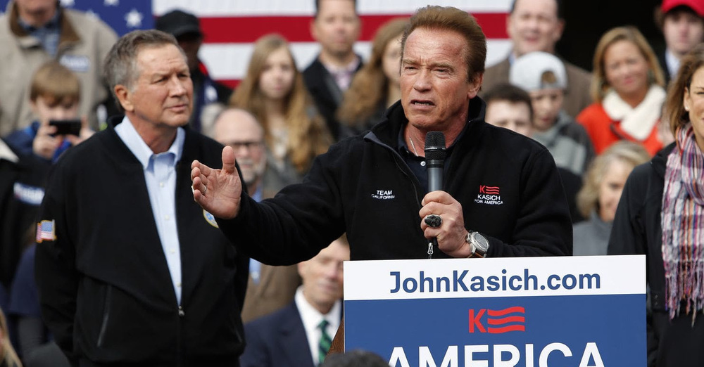 Arnold and kasich
