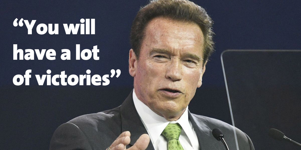 Arnold austrian world summit