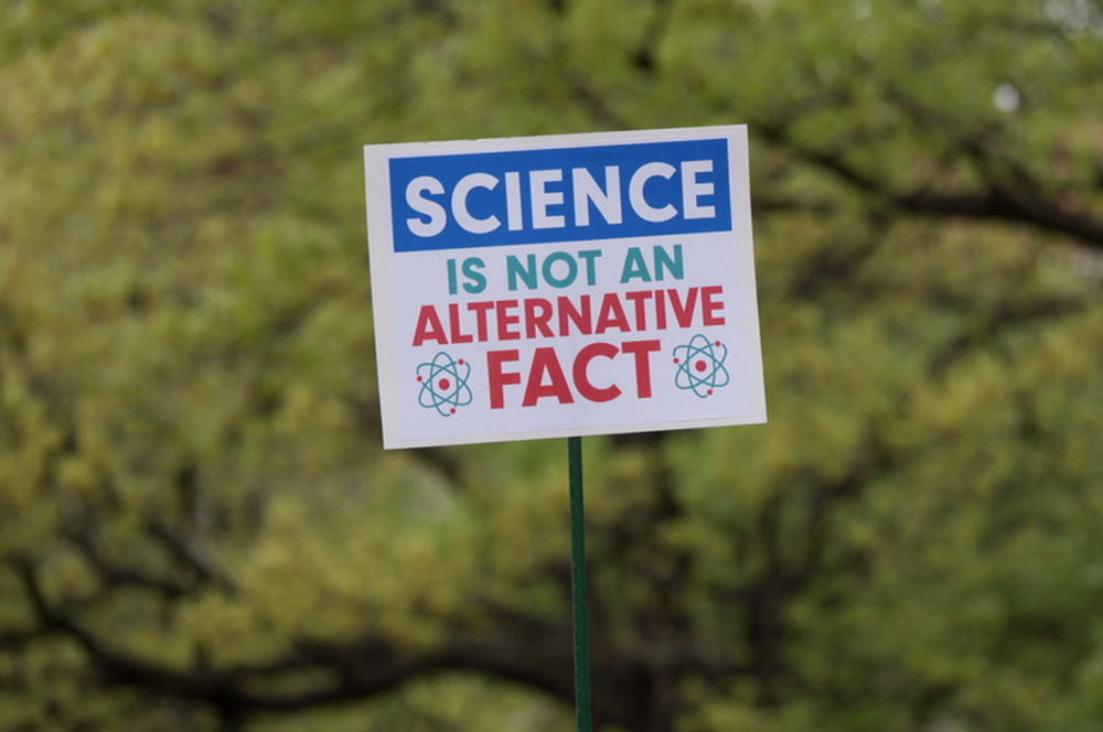 Science is not alt fact