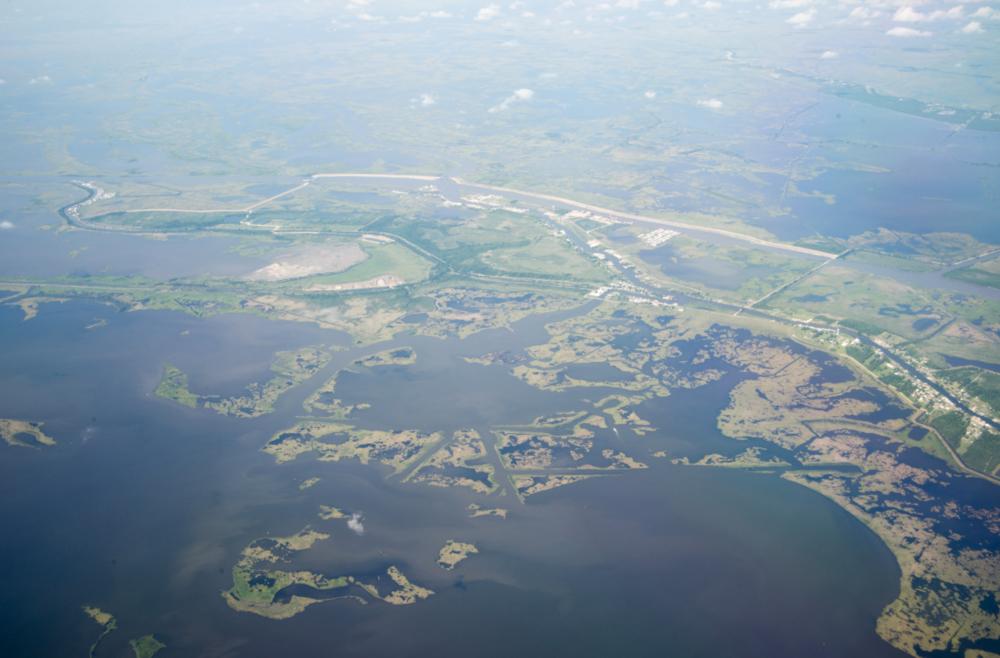 Louisiana changing coast