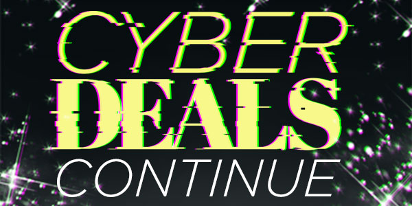 Cyber Monday Deals. Code:CYBER