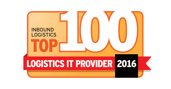 Inbound Logistics Top 100 Logistics IT Provider 2016