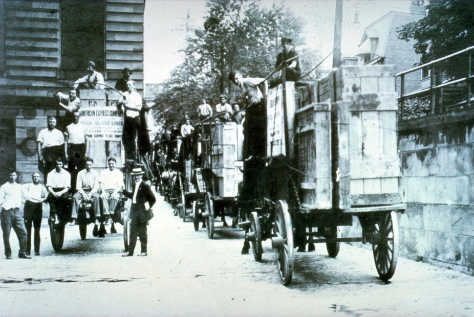 Vintage International Deliveries