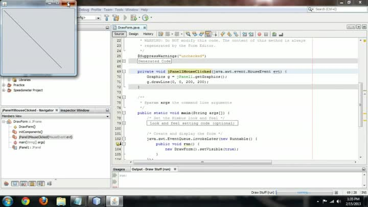 Drawing Lines Java : Video how to draw lines in java ehow