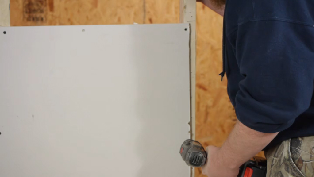 Video The Orientation For Laying Drywall Ehow