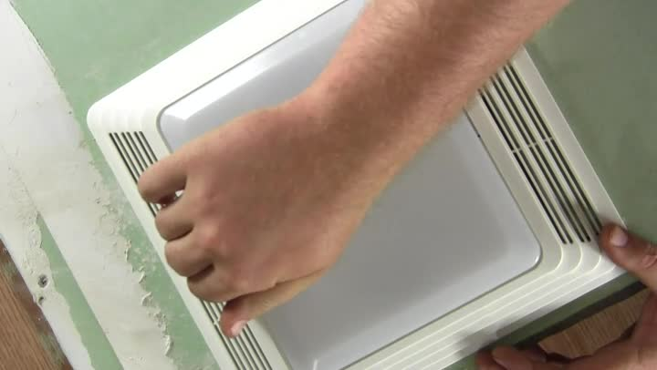 Video How To Replace A Bathroom Fan With No Attic Access Ehow