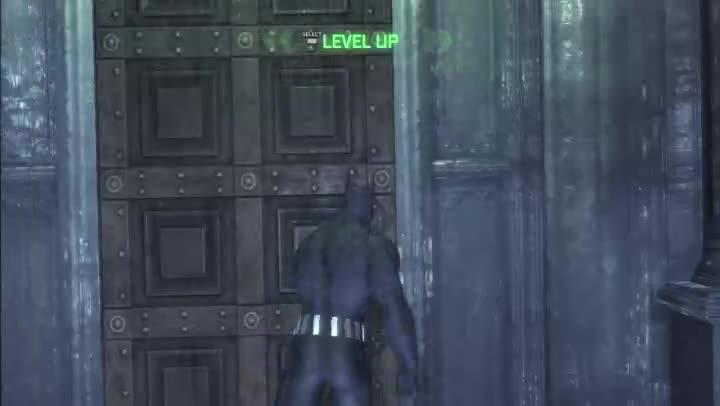 batman arkham city how to get past turrets