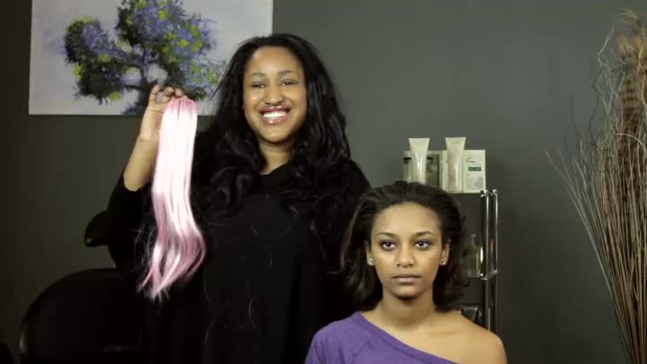 Video How To Double Hair Wefts Together By Sewing Ehow