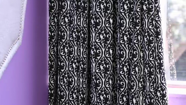 Video How To Decorate With Black White Damask Curtains