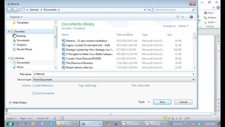 how to save word document as pdf windows 7