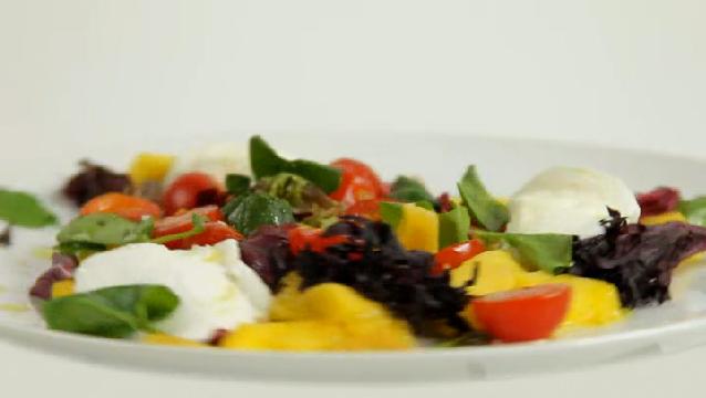 Video: Mango Caprese Salad | eHow