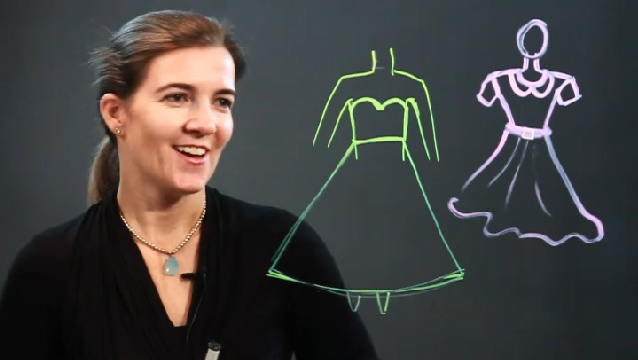 how to draw dresses for beginners