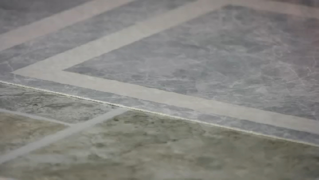 Video how to lay vinyl tile over existing vinyl tile for Vinyl flooring over vinyl