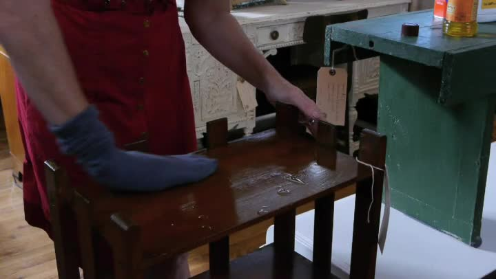 Video How To Safely Clean Old Wood Furniture Ehow
