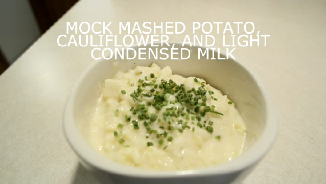how to make cauliflower mashed potatoes video