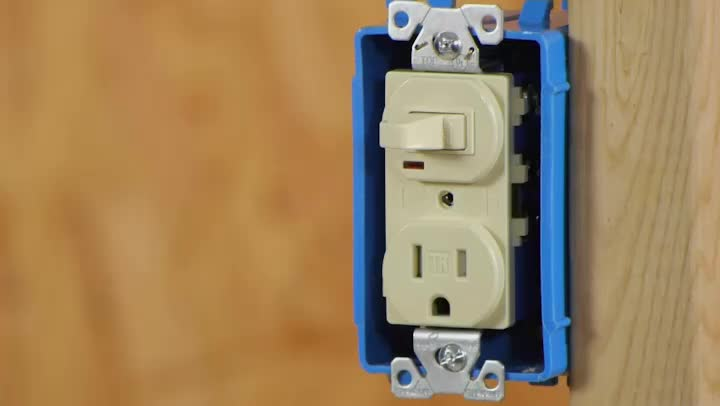video converting a light switch to a switch outlet combo ehow